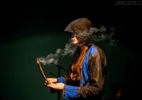 Очищение дымом священного можжевельника